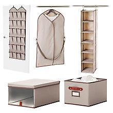 Buy neatfreak closetMAX storage range Online at johnlewis.com