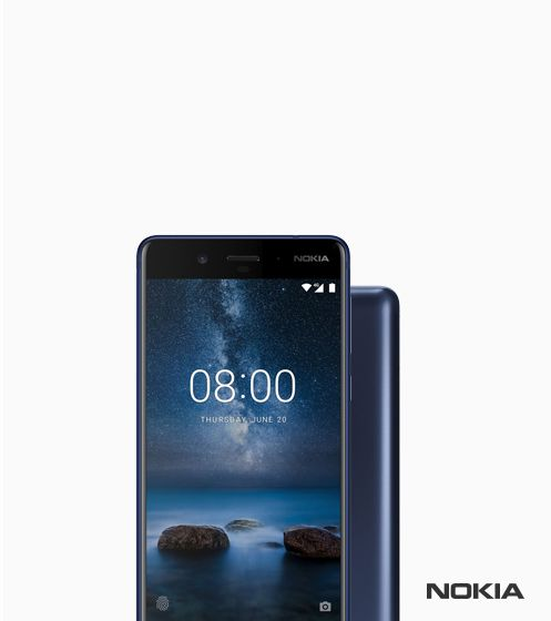 Nokia 8 on Android