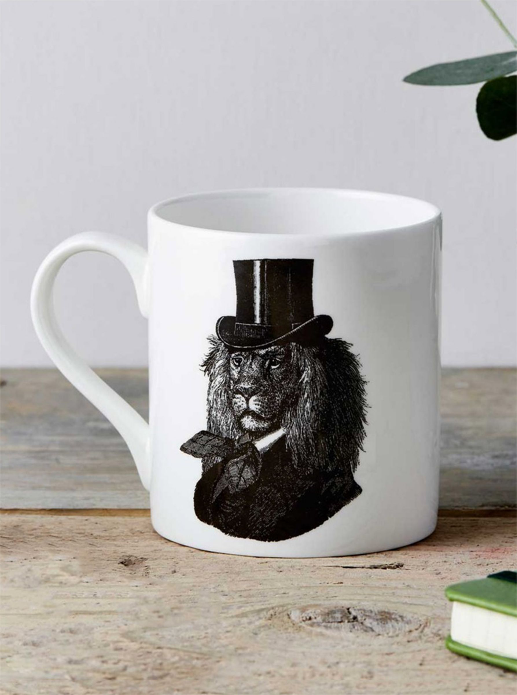 Chase and Wonder Dandy Lion Fine China Mug