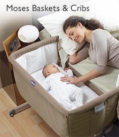 Moses Baskets & Cribs