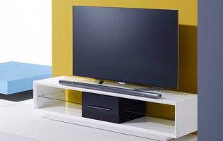 Tv on stand for Tv and Home cinema installation