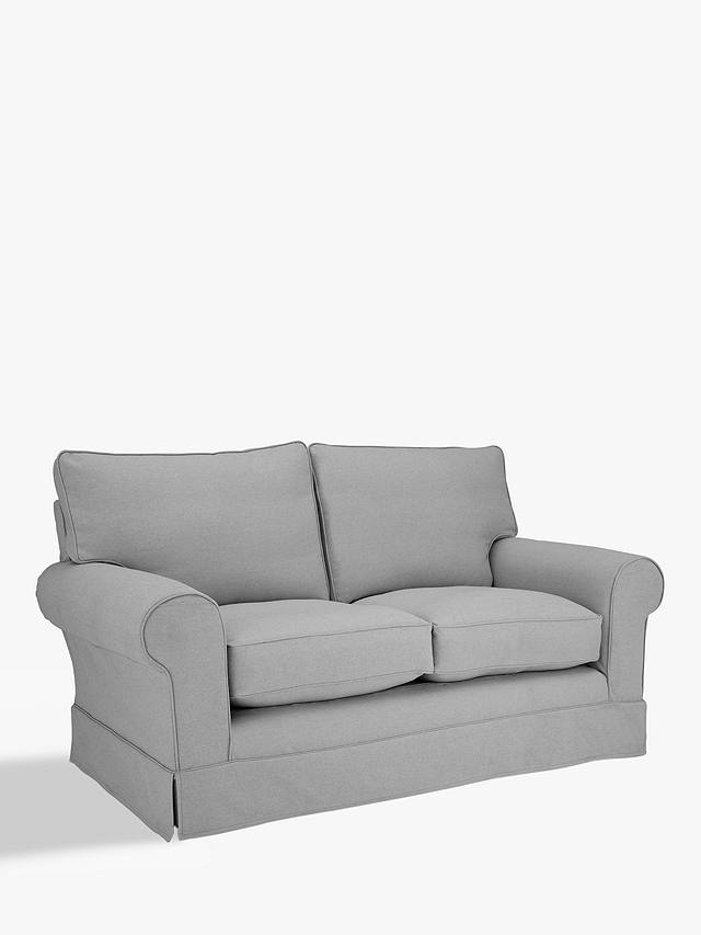 John Lewis Partners Padstow Medium 2 Seater Fixed Cover Sofa Bed Open Sprung Mattress