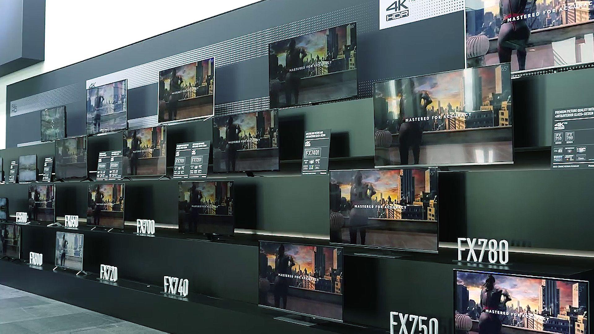 Panasonic TX-49FX700B LED HDR 4K Ultra HD Smart TV, 49