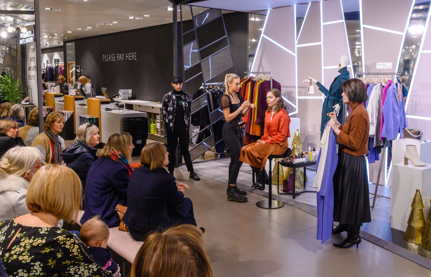 Style Talks at Southampton store - photo is taken by © Mark Mackenzie