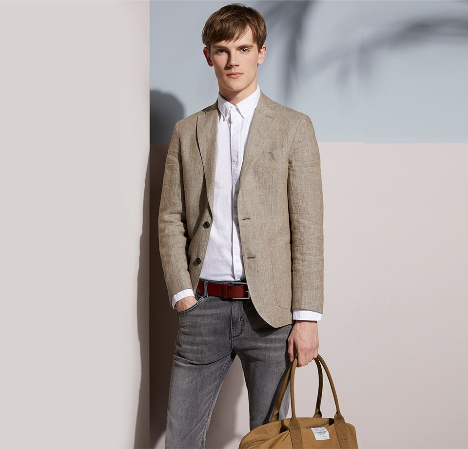 THE BLAZER  - JOHN LEWIS & Co. Benstock Pure Linen Tailored Blazer
