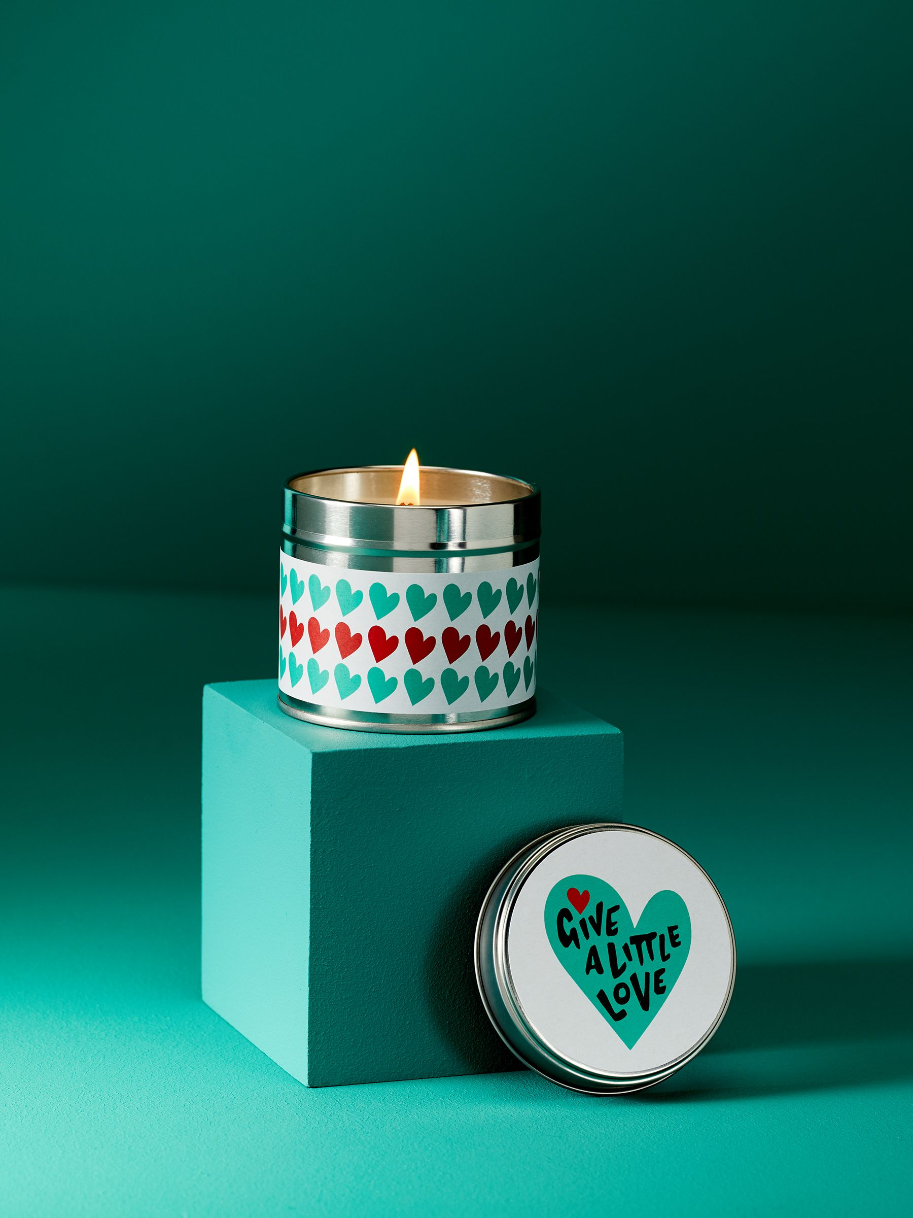 Give a Little Love Candle