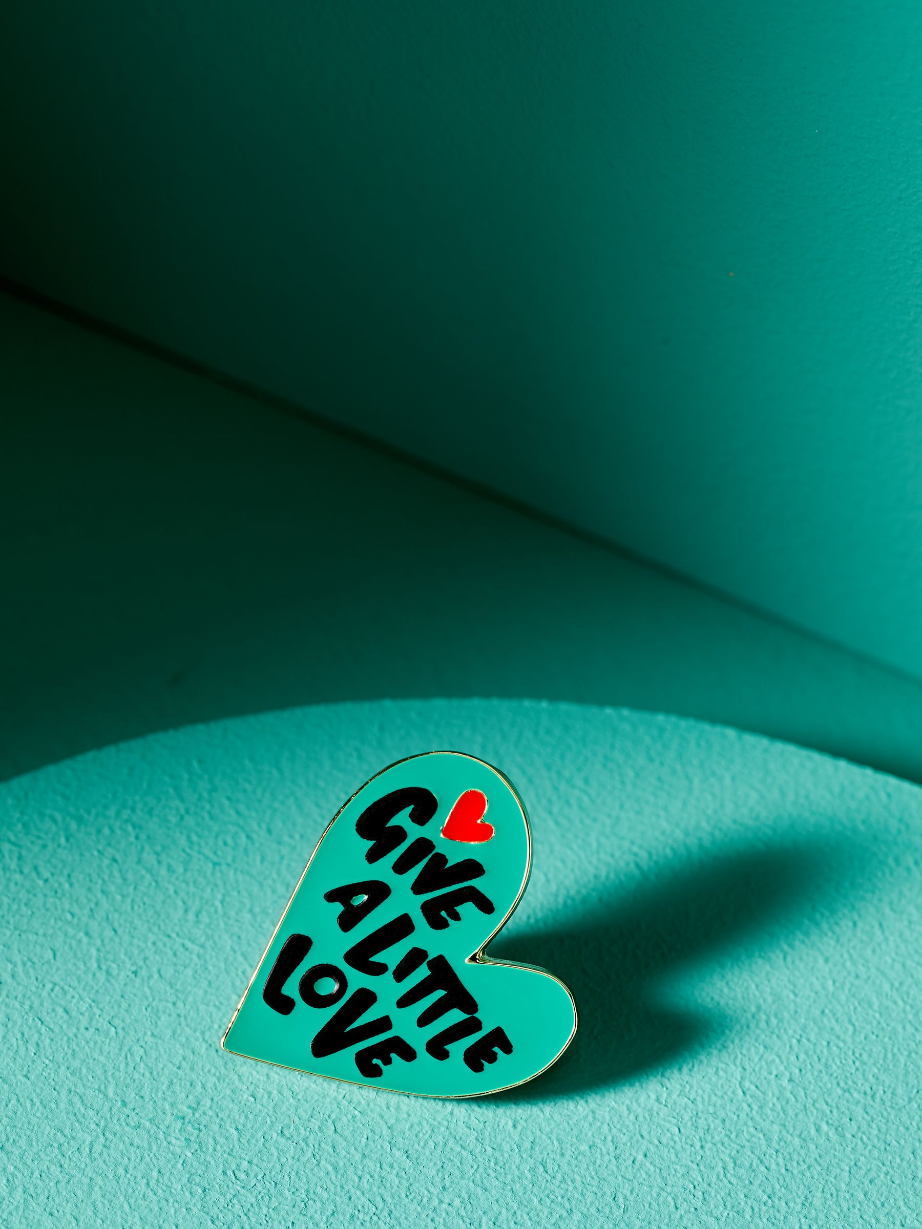 Give a Little Love Pin Badge