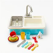 John Lewis Wash Up Kitchen Sink Playset