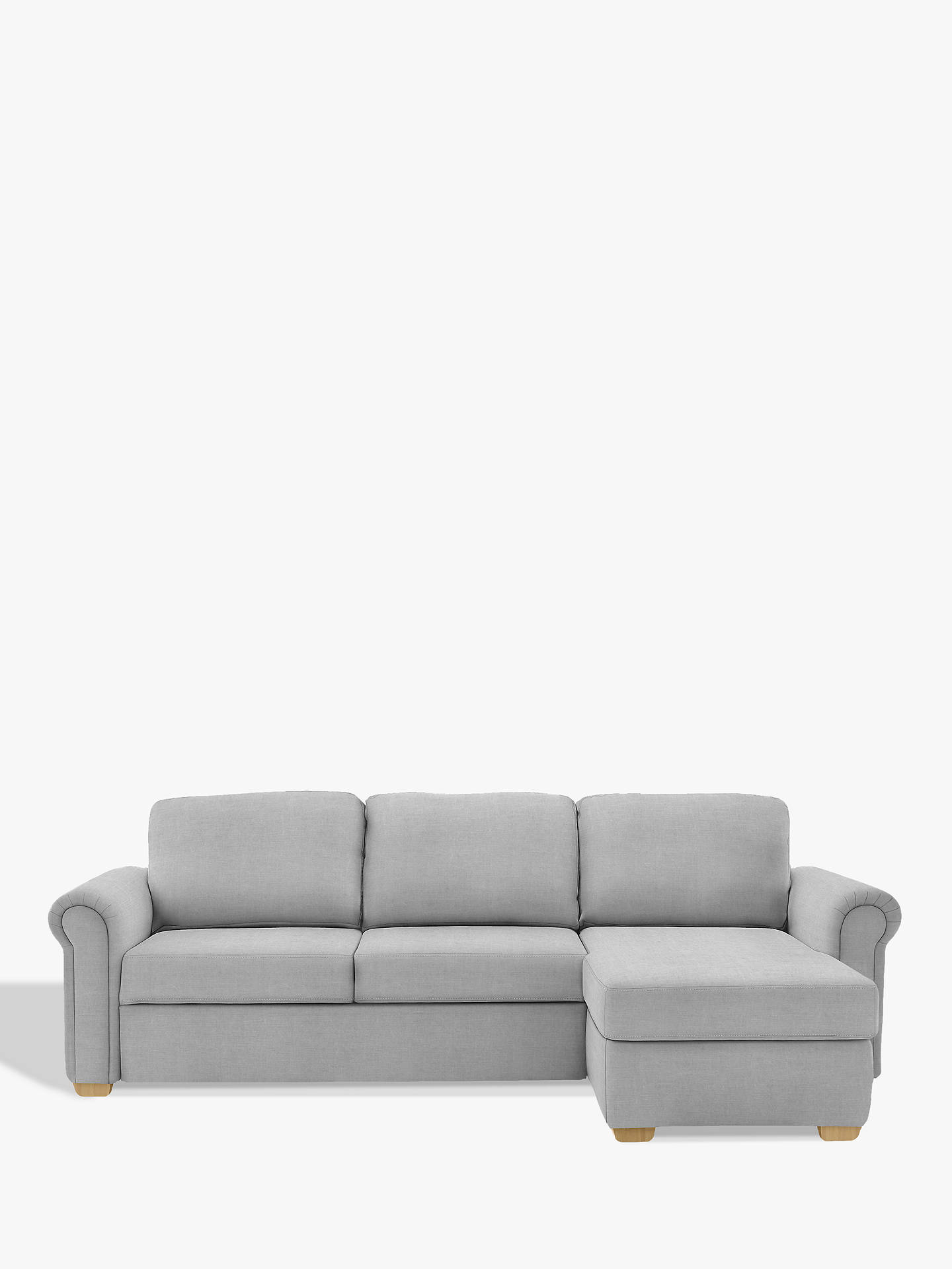Astounding John Lewis Sacha Large Scroll Arm Storage Sofa Bed At John Gmtry Best Dining Table And Chair Ideas Images Gmtryco