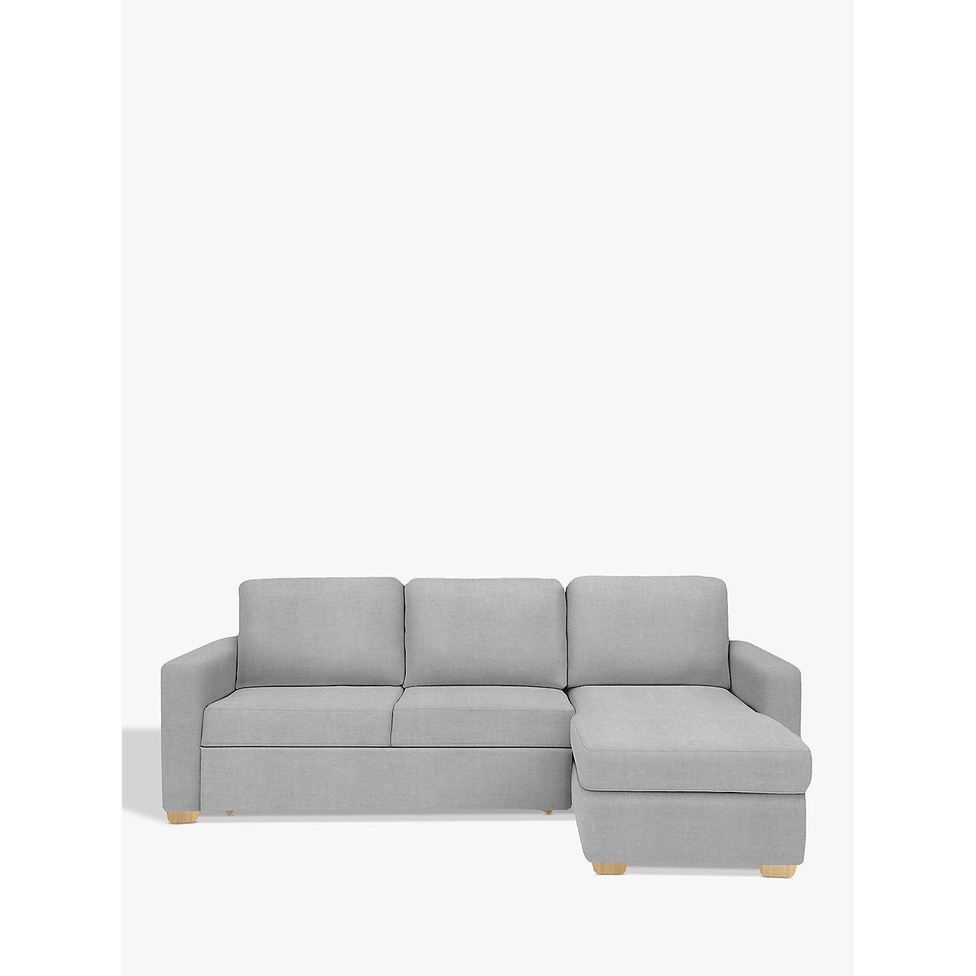 Buy John Lewis Sacha Sofa Bed with Foam Mattress Light Leg