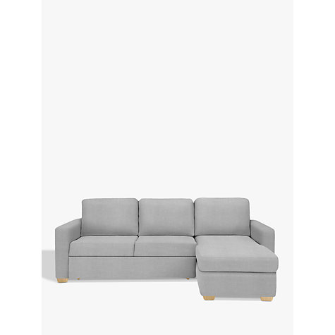 Buy John Lewis Sacha Sofa Bed with Foam Mattress Light Leg Erin Grey