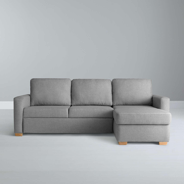 john lewis sacha large sofa bed with foam mattress light. Black Bedroom Furniture Sets. Home Design Ideas