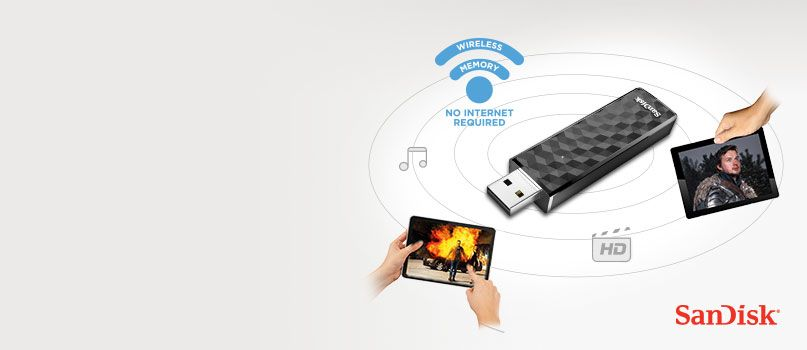 The flash drive reinvented