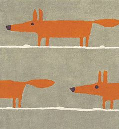 Scion Mr Fox Rug