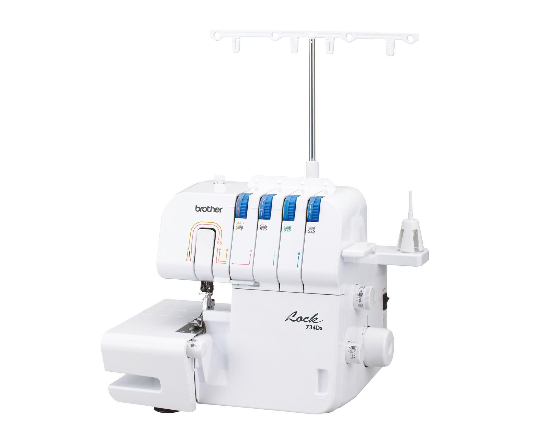 Overclocker or serger machine