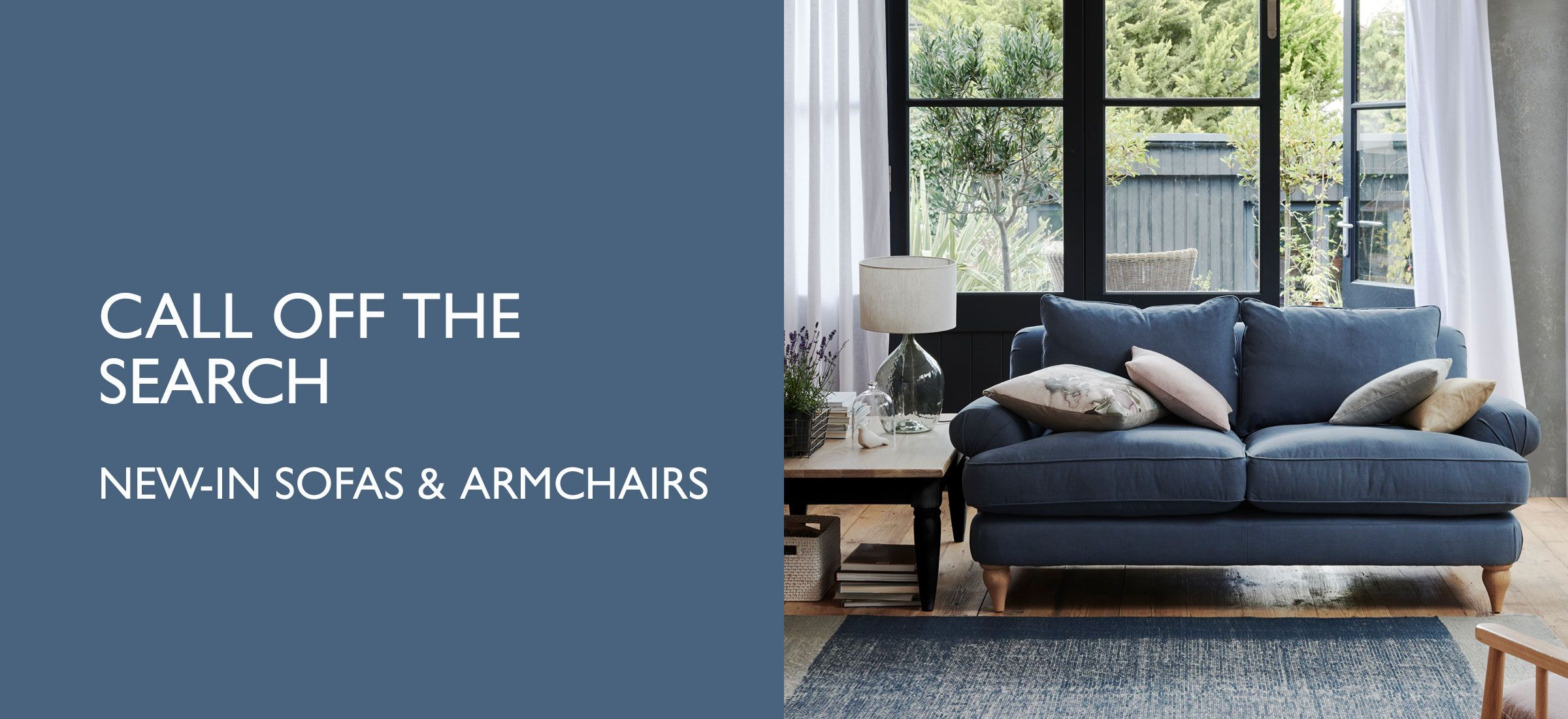 New-in Sofas & Armchairs