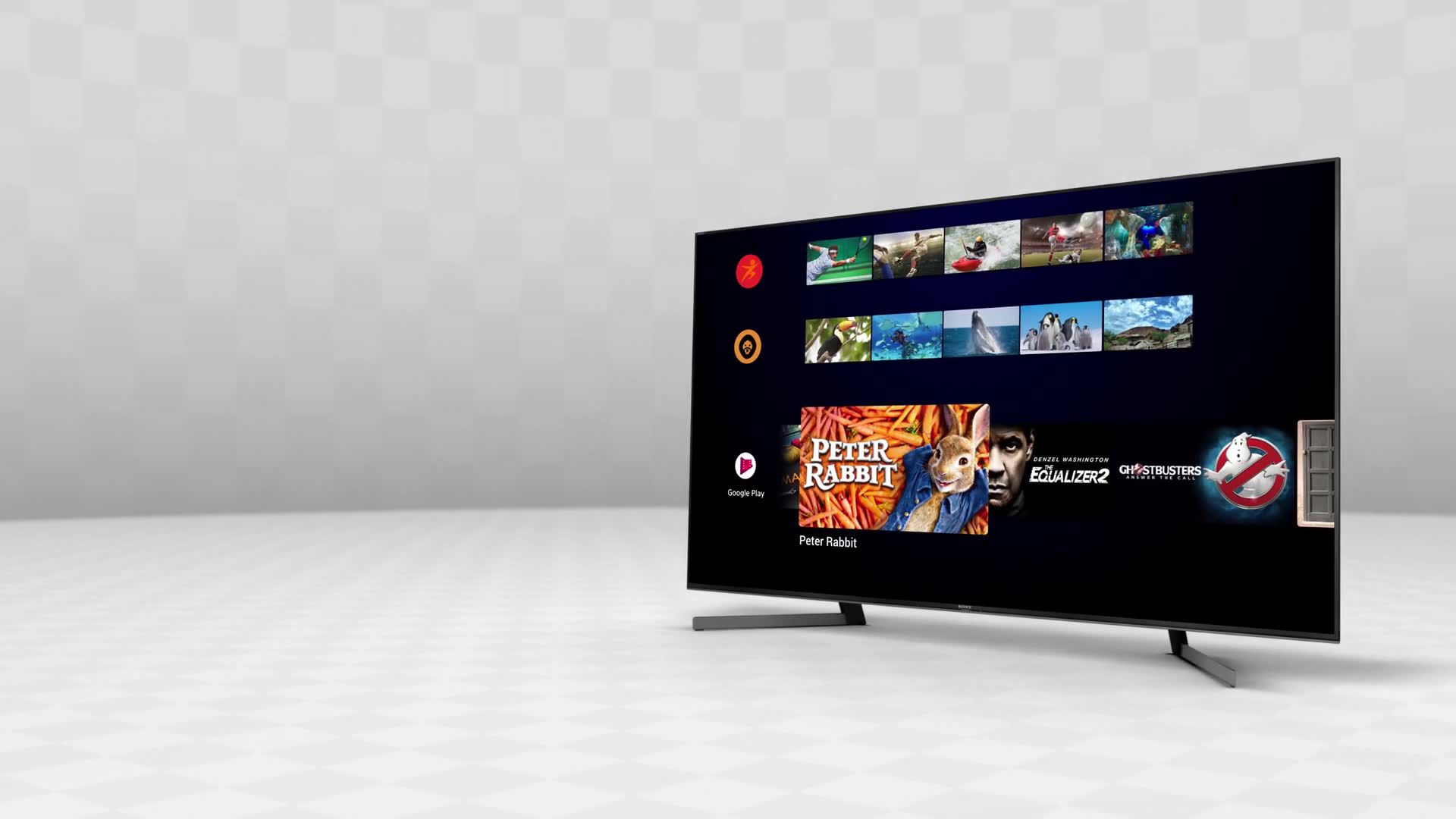 Sony Bravia KD65AG8 (2019) OLED HDR 4K Ultra HD Smart Android TV, 65