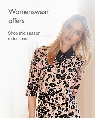 Womenswear offers - Shop mid season reductions