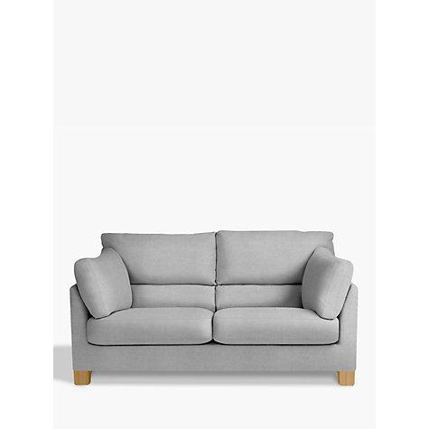... Buy John Lewis Ikon High Back Medium 2 Seater Sofa, Henley French Grey Online at ...