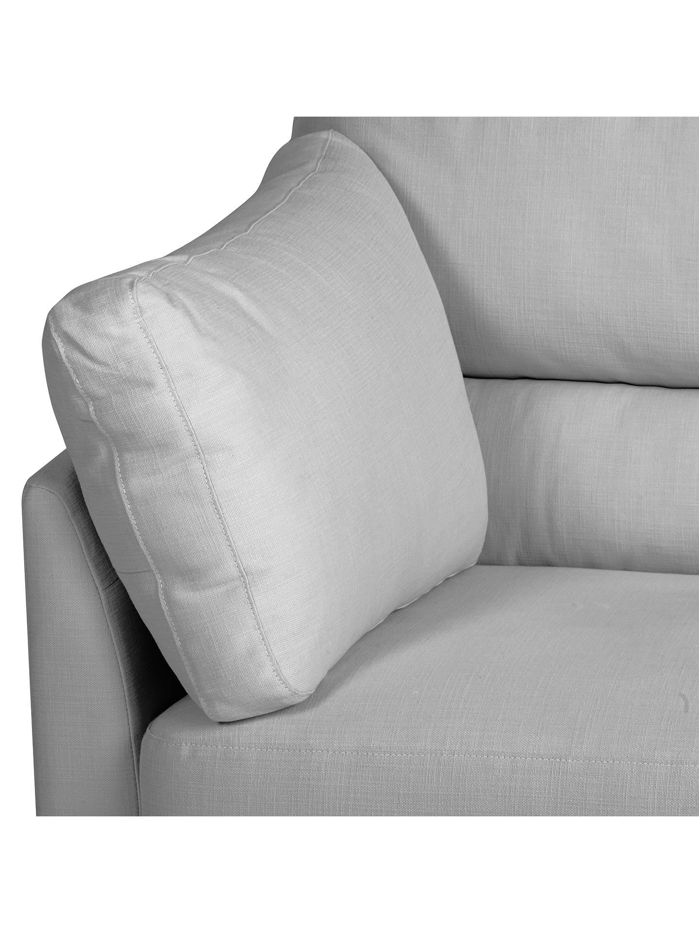 John Lewis Partners Ikon High Back Medium 2 Seater Sofa Henley French Grey Online