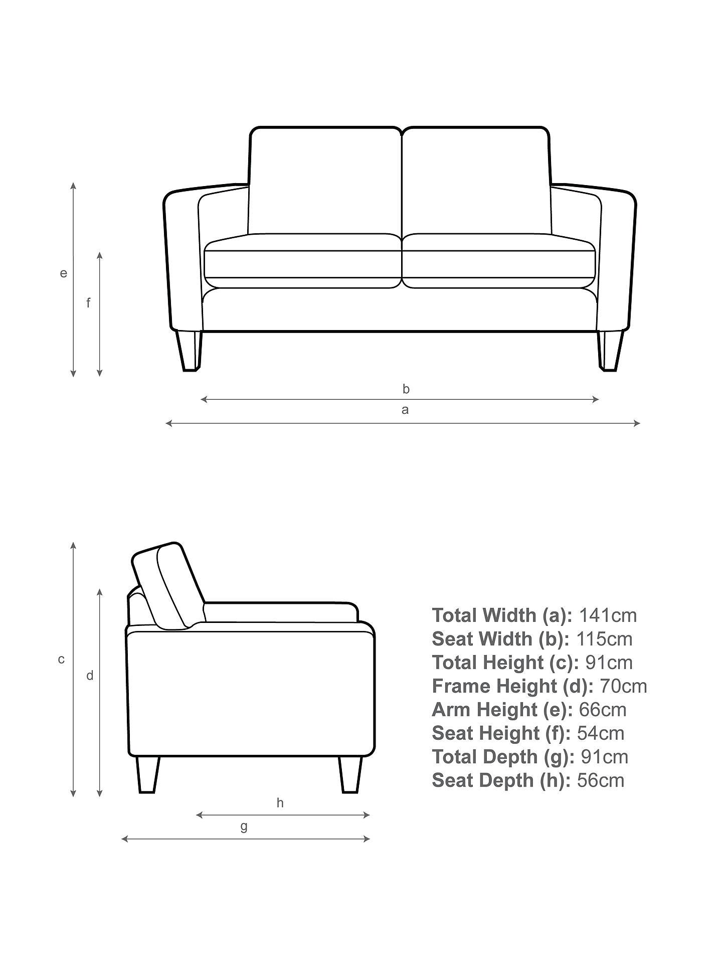 John Lewis Partners Jackson Small 2 Seater Sofa Light Leg Grey Online At