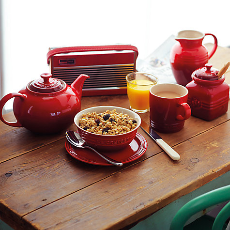 Buy Le Creuset Stoneware Coffee Press Online at johnlewis.com