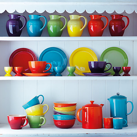 buy le creuset rainbow stoneware espresso mugs set of 6. Black Bedroom Furniture Sets. Home Design Ideas