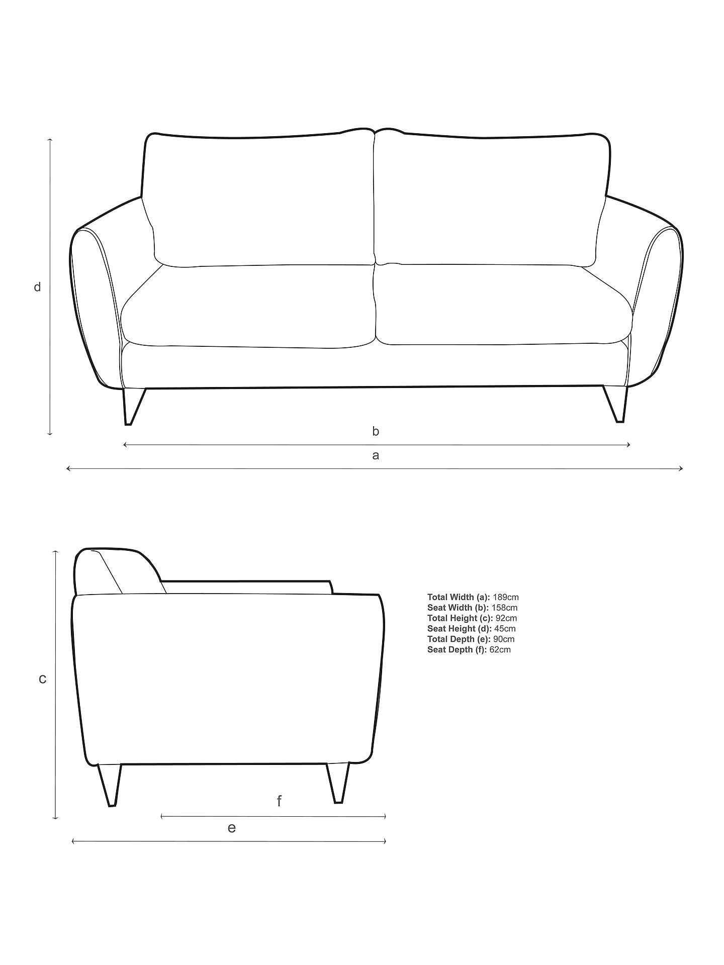 5f9f92a0a90 ... Buy John Lewis Warwick Cushion Back Medium Sofa
