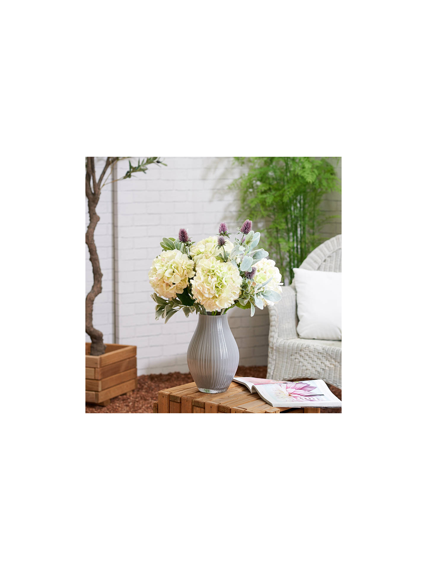 Buy Peony Artificial Thistle, Set of 6 Online at johnlewis.com