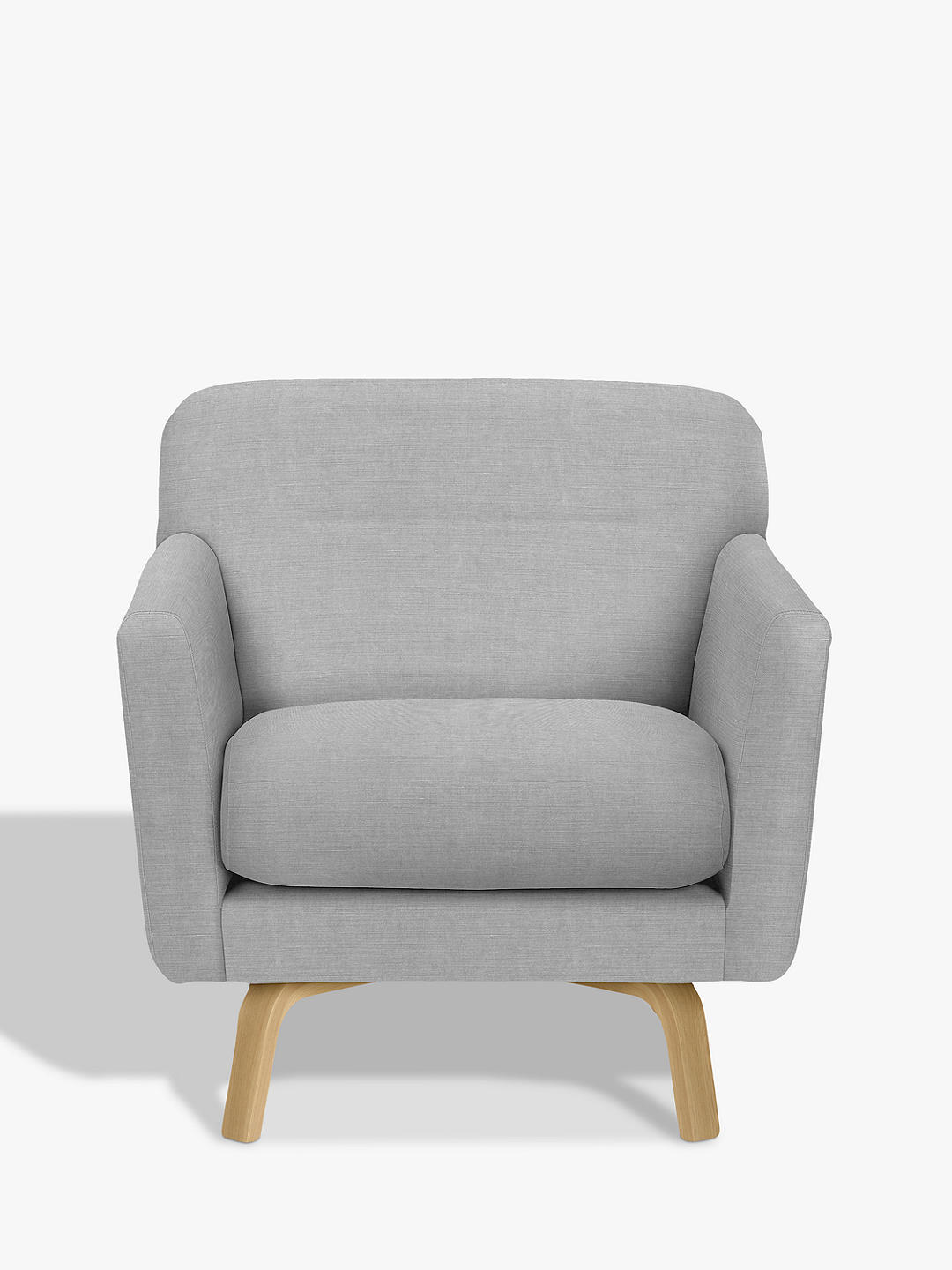 Buy House by John Lewis Archie II Armchair, Light Leg, Pepper Blossom Online at johnlewis.com