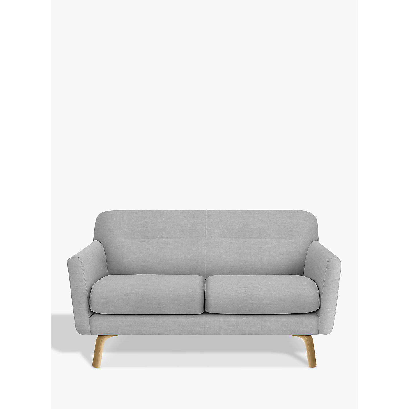 Buy John Lewis Archie Medium 2 Seater Sofa Light Leg Saga Grey