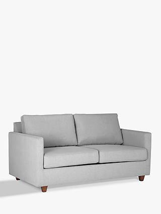 John Lewis & Partners Barlow Small 2 Seater Sofa Bed, Memory Foam Mattress