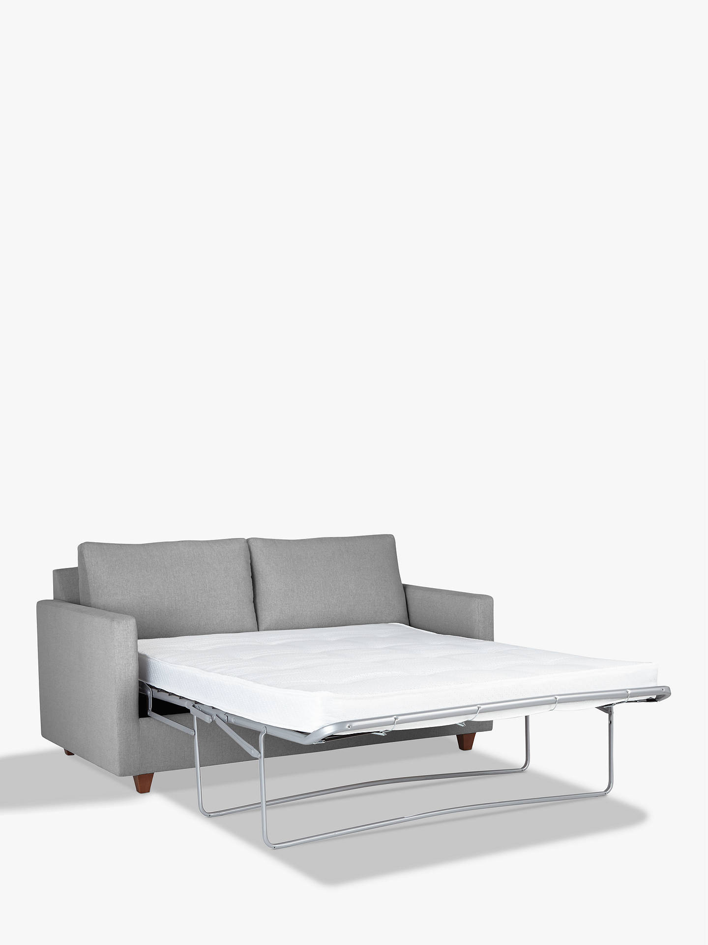 Buyjohn lewis partners barlow small 2 seater sofa bed with pocket sprung mattress light