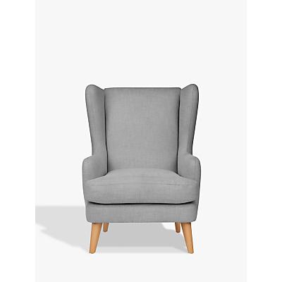 John Lewis & Partners Bergen Armchair, Light Leg, Mole Grey