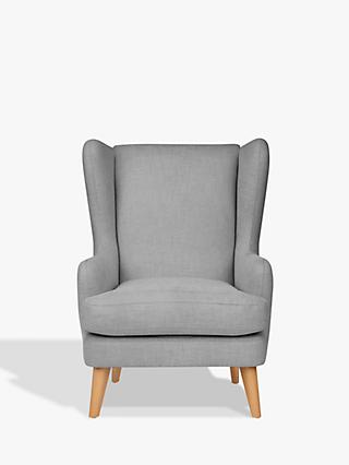 John Lewis & Partners Bergen Armchair, Light Leg