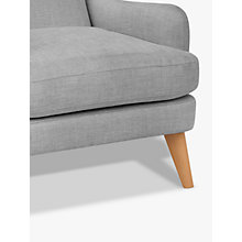 Buy John Lewis Bergen Armchair, Light Leg, Mole Grey Online at johnlewis.com