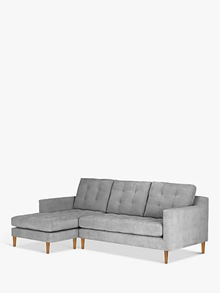 John Lewis & Partners Draper LHF Chaise End Sofa