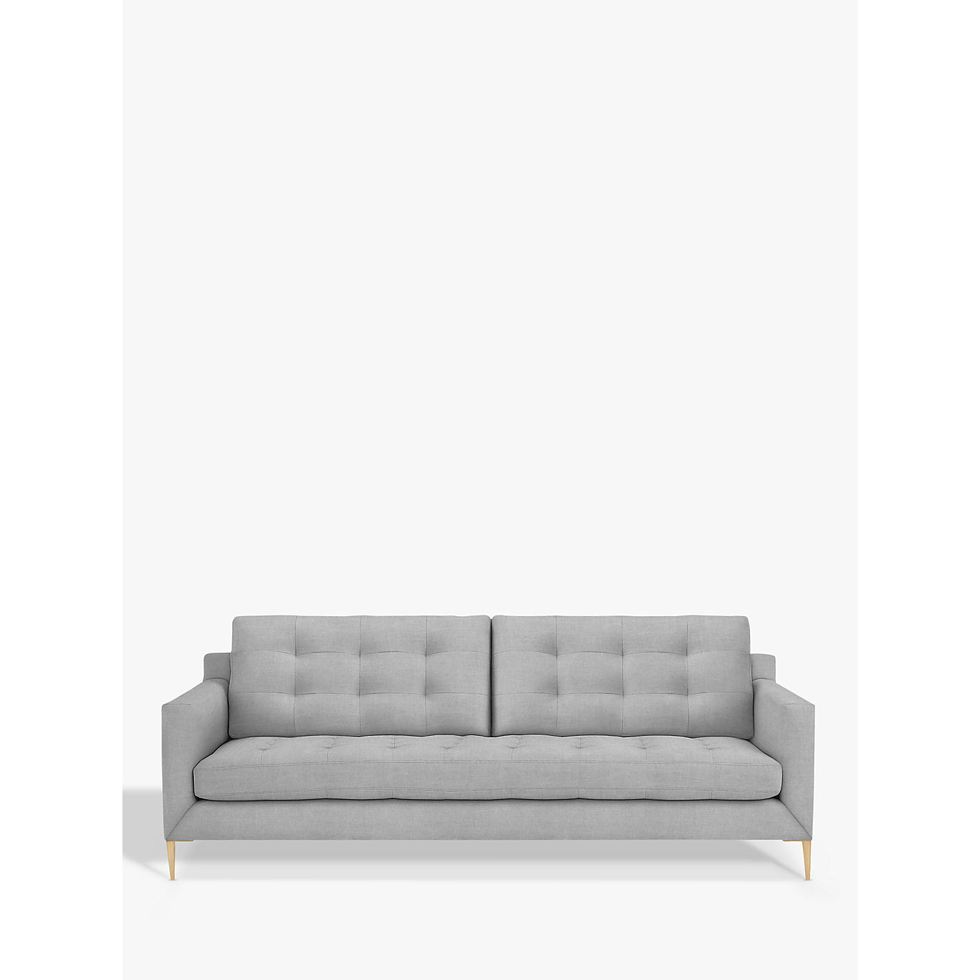 Buy John Lewis Draper 3 Seater Sofa Dark Leg Chloe Emerald
