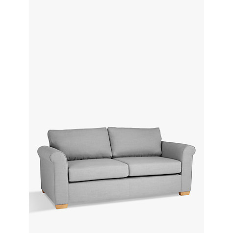 Buy John Lewis Malone Large 3 Seater Sofa Bed With Memory Foam