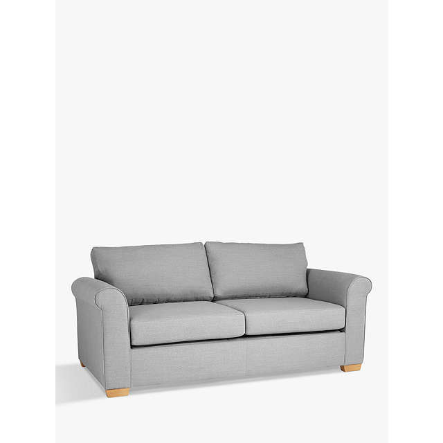 BuyJohn Lewis Malone Large 3 Seater Sofa Bed With Memory Foam Mattress  Online At Johnlewis.