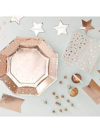 Rose Gold Party Range
