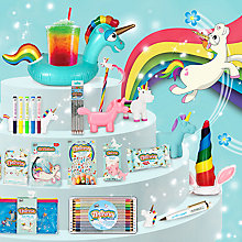 Buy Unicorn and Mermaid Stationery Collections Online at johnlewis.com