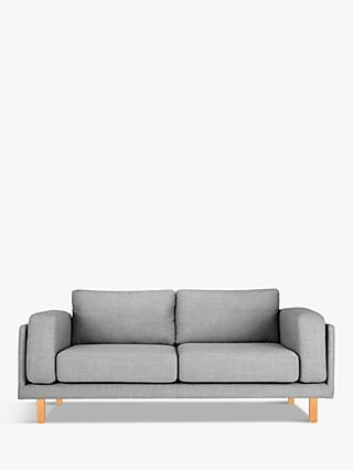 Design Project by John Lewis No.002 Grand 4 Seater Sofa, Arya Blue Grey