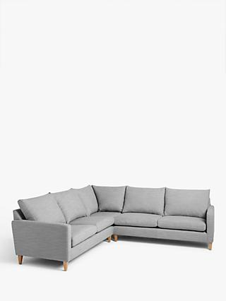 John Lewis & Partners Bailey High Back Corner Sofa