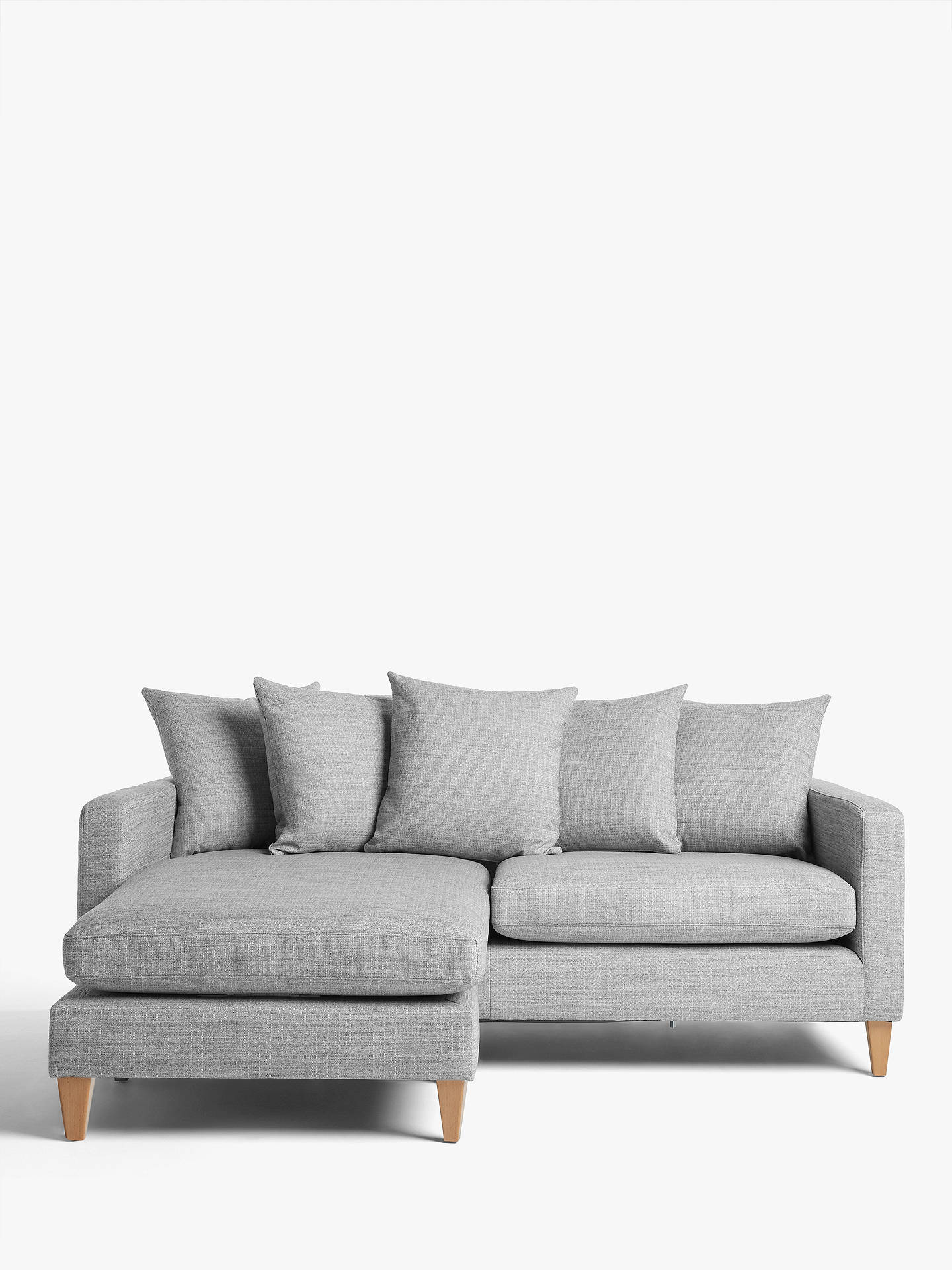 20953f8ce34e Buy John Lewis & Partners Bailey Scatter Back LHF Chaise End Sofa Online at  johnlewis.