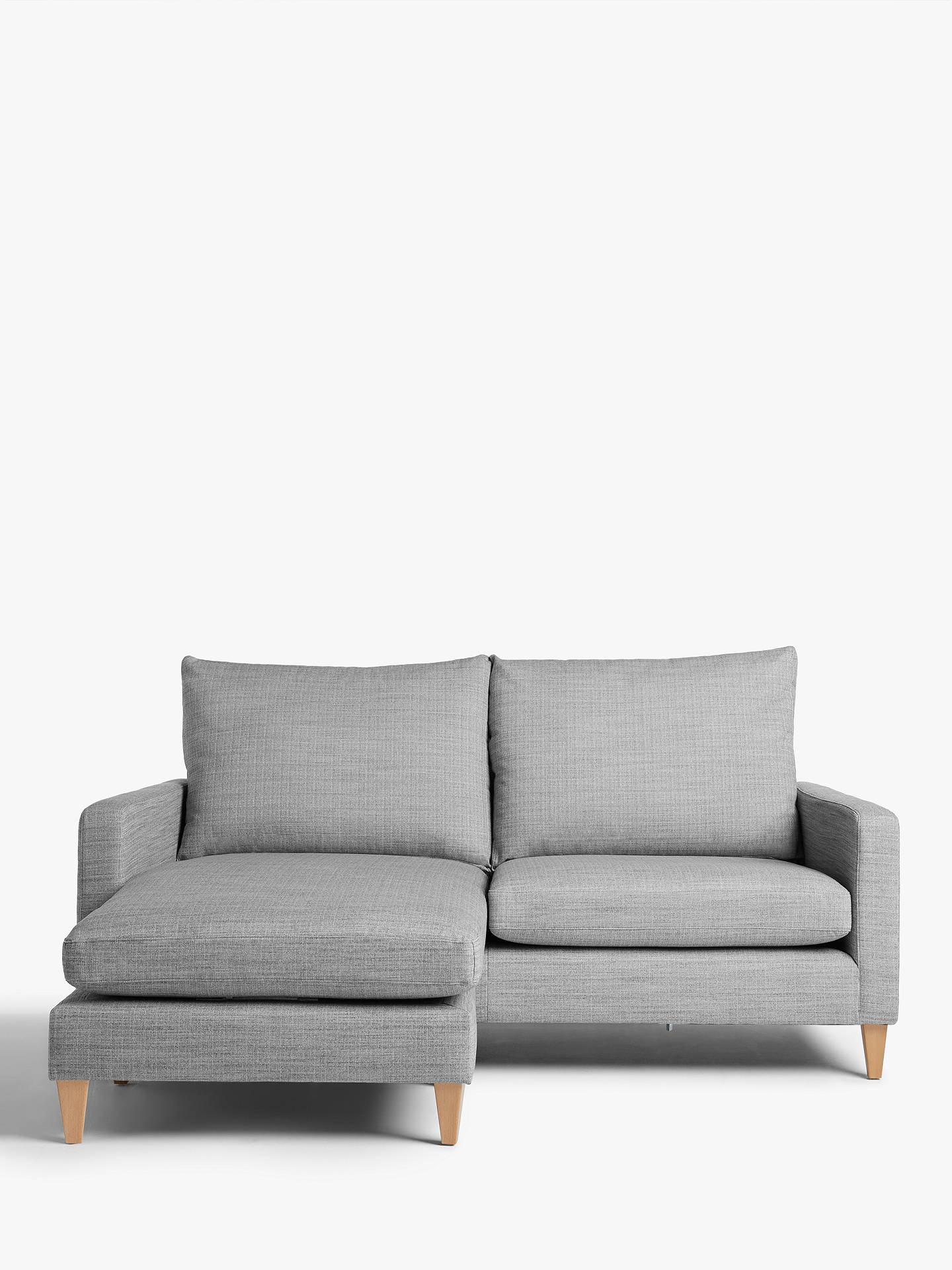 8621ef3a3e86 Buy John Lewis & Partners Bailey High Back LHF Chaise End Sofa Online at  johnlewis.