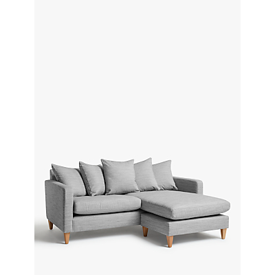 John Lewis & Partners Bailey Scatter Back RHF Chaise End Sofa