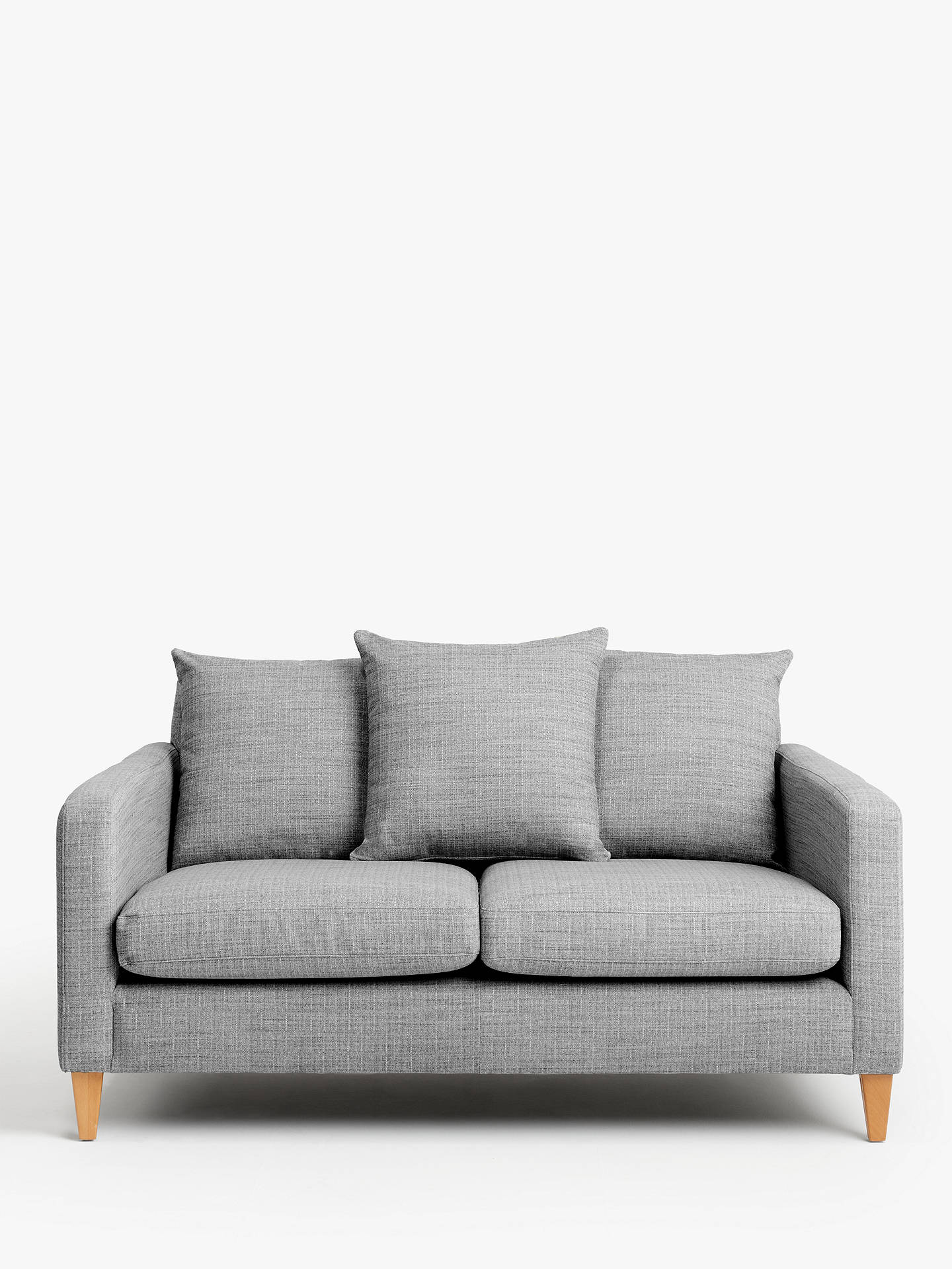 Buy John Lewis & Partners Bailey Scatter Back Small 2 Seater Sofa Online at johnlewis.com