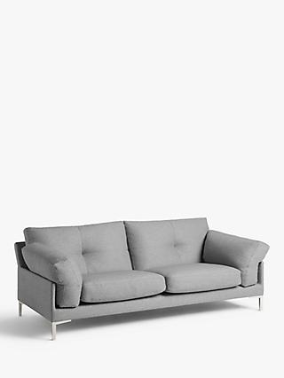 John Lewis & Partners Java II Grand 4 Seater Sofa, Metal Leg