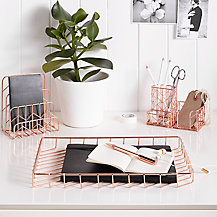 John Lewis Rose Gold Home Office